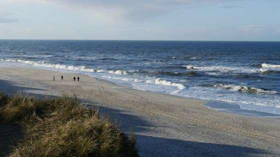 Strandspaziergang auf Sylt im Winter