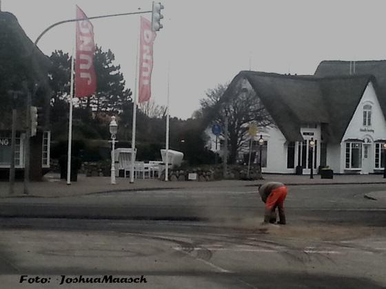 L24 in Kampen auf Sylt gesperrt