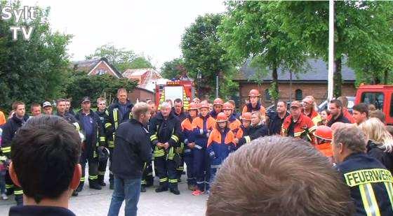 Eine starke Truppe die Sylter Feuerwehren