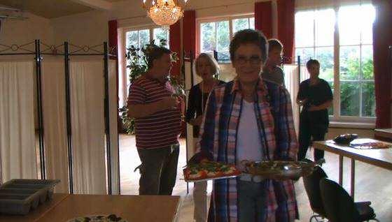 Gisa Pauly las und kochte in Keitum