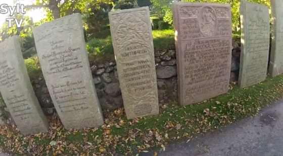 Der Friedhof von St. Severin in Keitum/Sylt - Die Grabsteine der Kapitäne