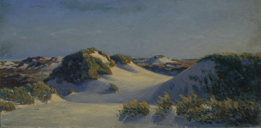 Franz Korwan, Dünenlandschaft auf Sylt © Sölring Museen