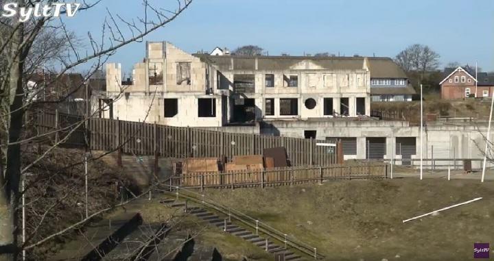 Die Ruine der Therme in Keitum ist bald Geschichte