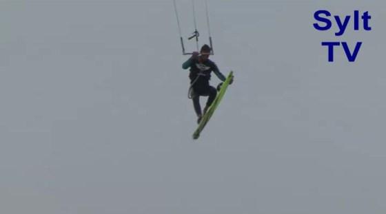 1. Tag beim Kitesurf Worldcup Sylt brachte deutschen Erfolg
