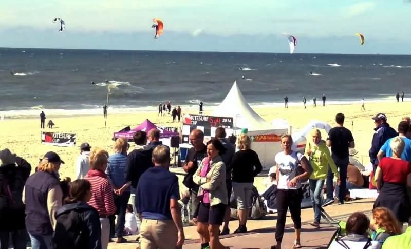 Der Kitesurf Cup Sylt startet am 27. Juni 2017