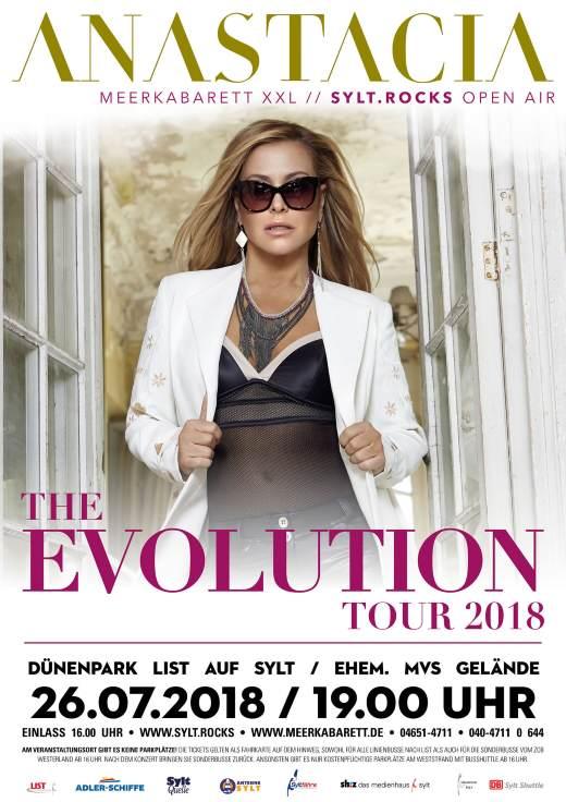 Anastacia im Sommer 2018 Live auf Sylt