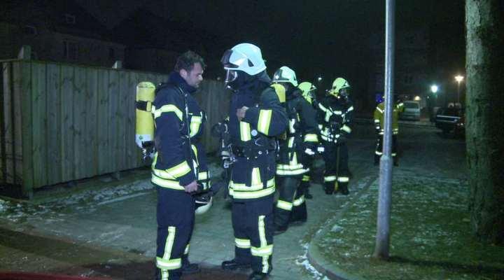 Brand Seniorenwohnheim List auf Sylt
