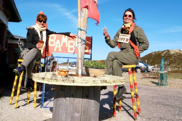Elli und Sabine von der Bambus Bar List