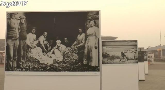 Fotoinsel Sylt Ausstellung im Lister Hafen