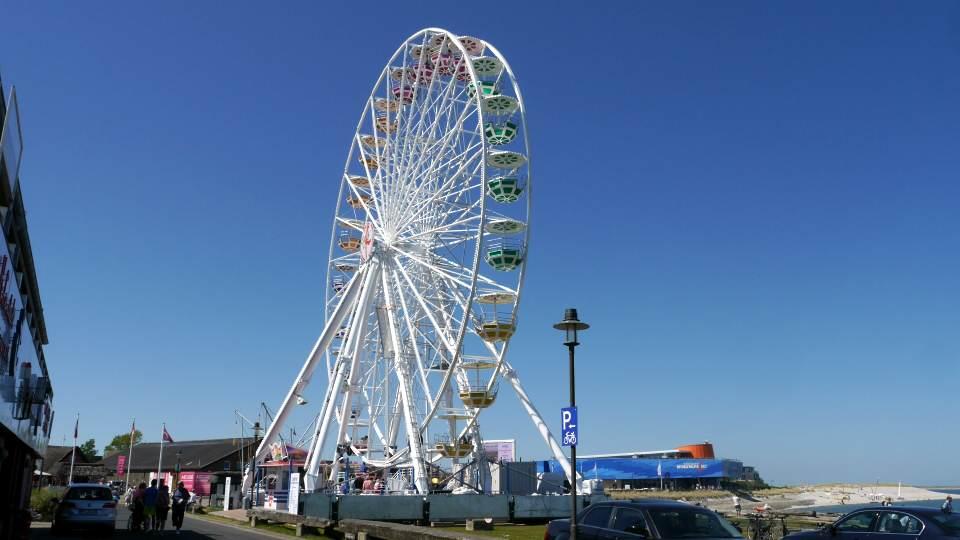 Das Sylter Rad im Lister Hafen