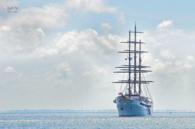 Eines der schönsten Kreuzfahrtschiffe auf der Nordsee