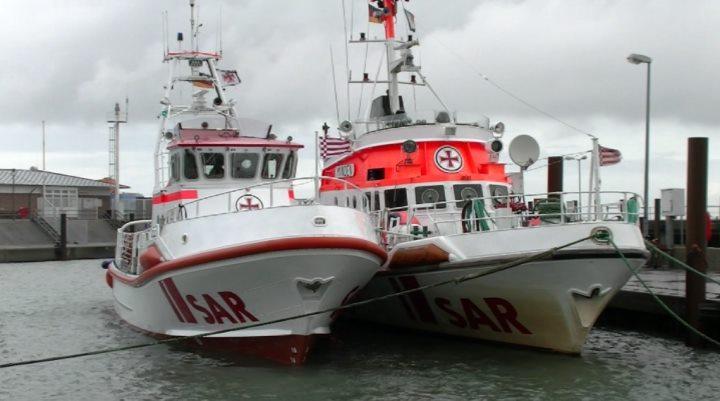 Seenotrettungskreuzer SK34 auf Sylt + die Minden
