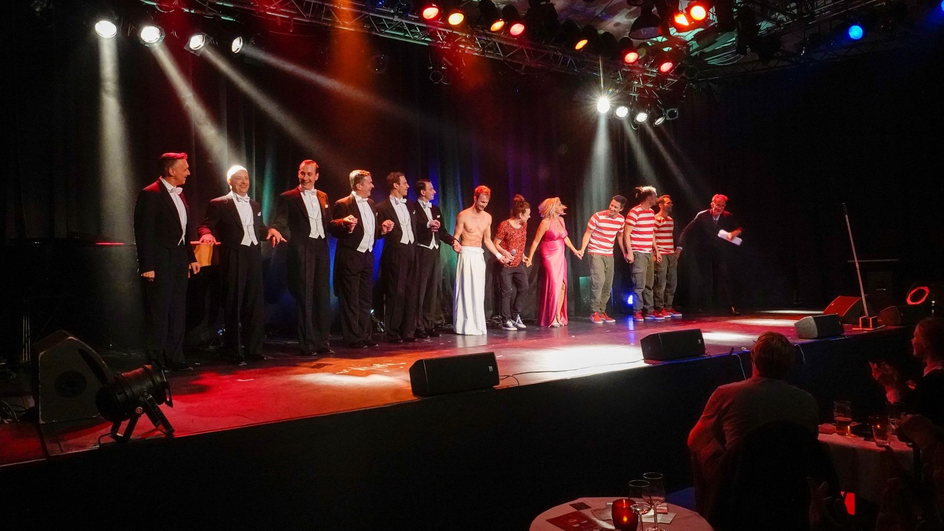 Meerkabarett Sylt 2019, die Stars des Openings