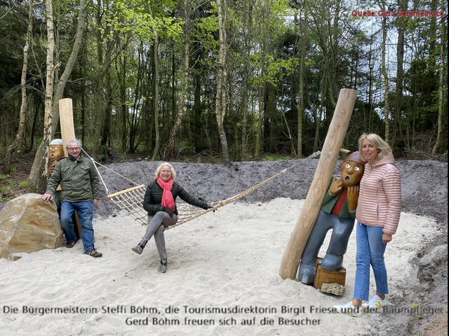 Kampener Sagenwald ab sofort eröffnet Wie im Märchen! Sylt