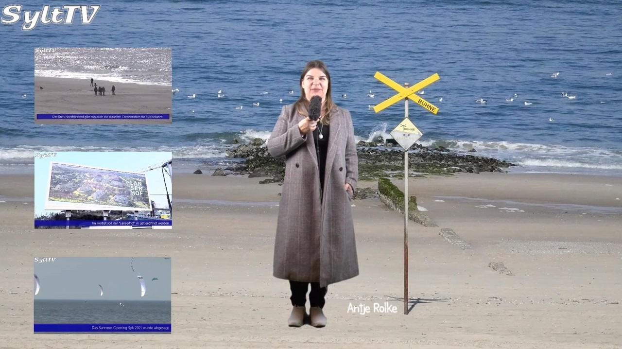 Sylt TV's Inselnachrichten vom 1. März 2021
