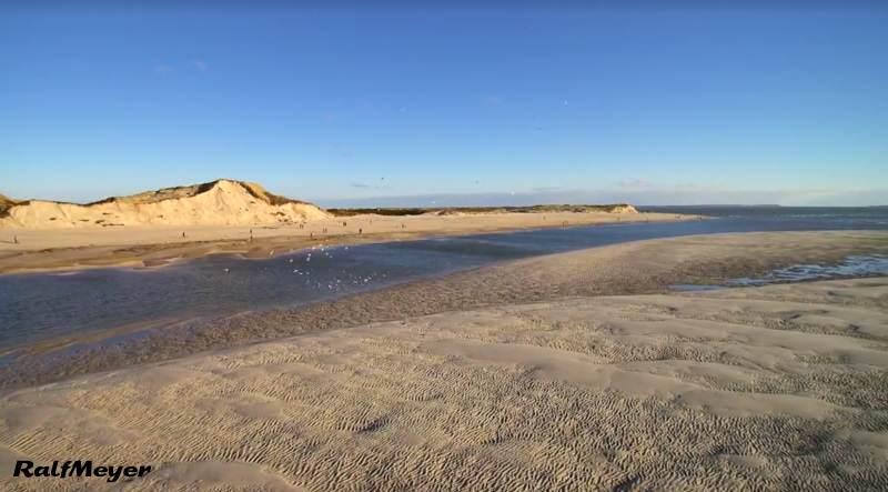 Es sind neue Sandablagerungen an der Hörnum Odde zu beobachten