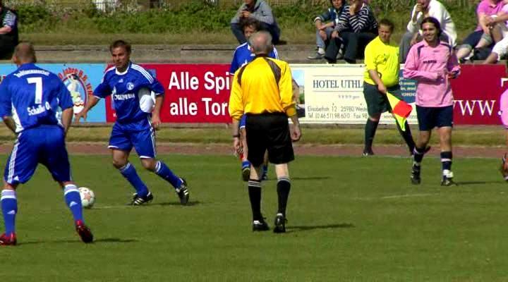 Schalke 04 mit Olaf Thon auf Sylt