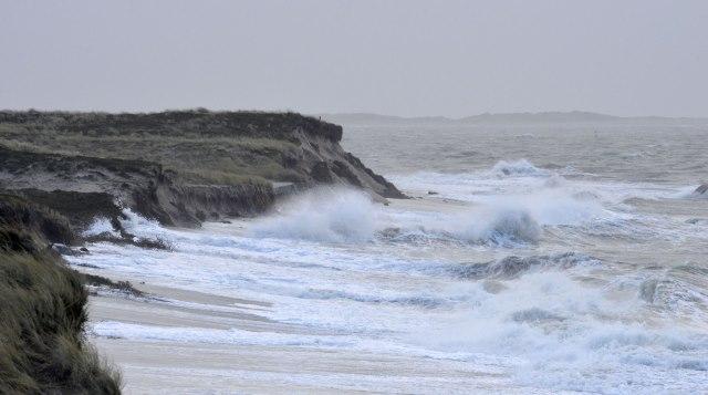 Orkane und Sturmfluten setzen Sylt zu
