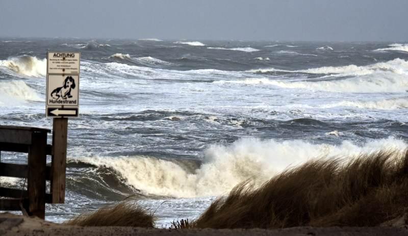 """Sturm oder Orkan? Wie stark erwischt """"Sebastian"""" die Küste"""