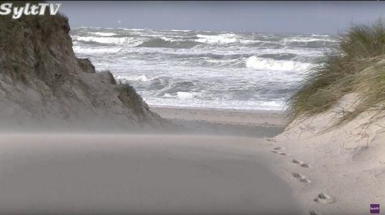 Wie stark werden die nächsten Tage die Sylter Küste verändern?