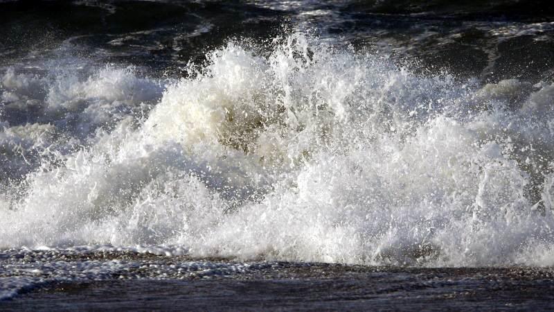 Orkan und Sturmflut Sebastian auf Sylt