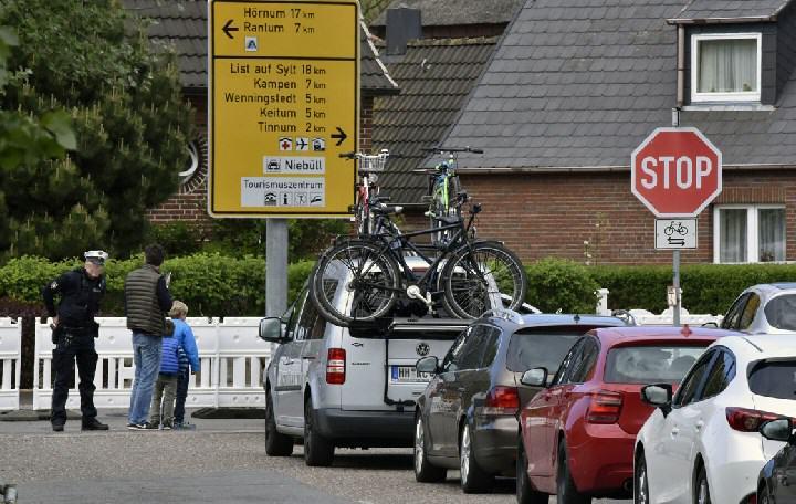 Polizei regelt Abreise von Sylt