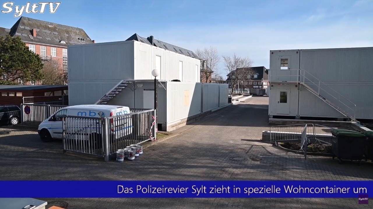 Sylt: Die Polizei in Westerland zieht morgen um!