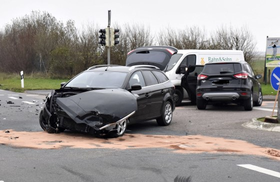 Unfall in der Nähe des Sylter Flughafens