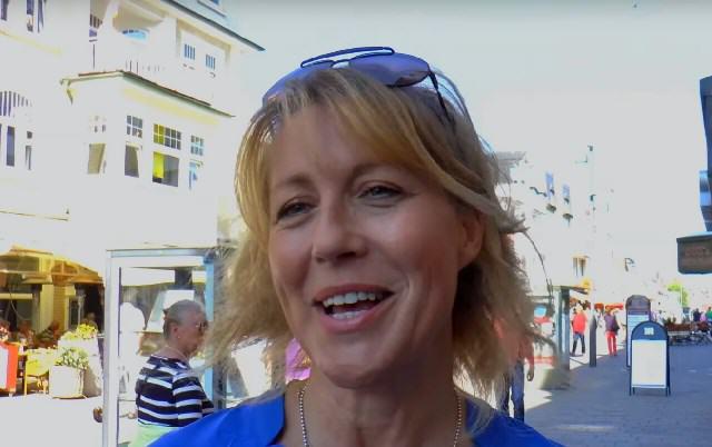 Anne Gesthuysen auf Sylt