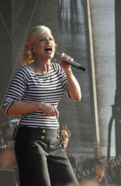 Ina Müller singt in Rantum