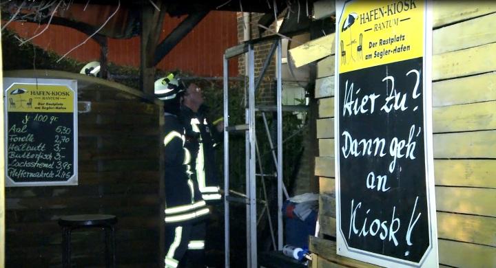 Die Feueerwehren Rantum + Westerland verhinderten Schlimmeres