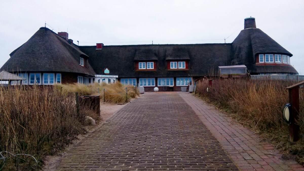 Die Sturmhaube auf dem Roten Kliff in Kampen
