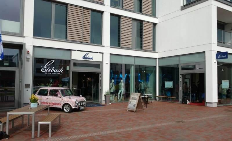 Elsbach Denim Library Store auf Sylt