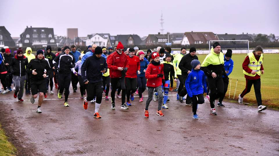 Der 2017er Silvesterlauf in Westerland