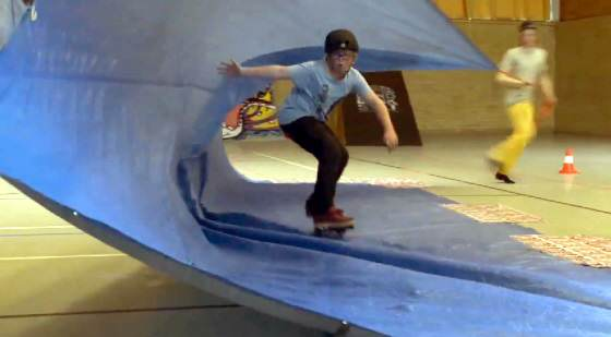 Skateboard Contest am Ostersonntag auf Sylt