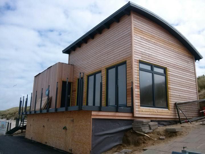 Clubhaus des Surf Club Sylt in Westerland
