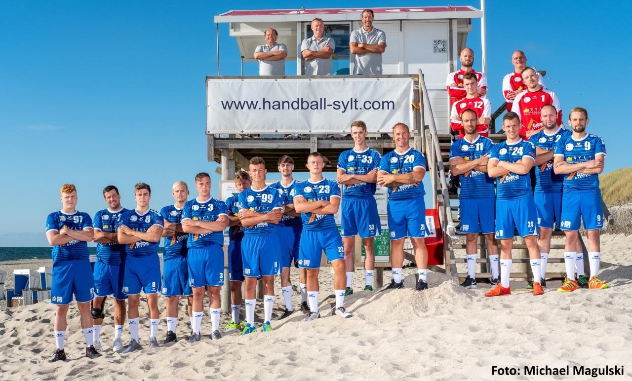 Freuen sich auf eine packende Partie: Die Handballer des TSV Westerland
