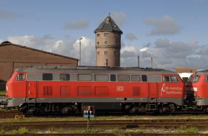 Niebüll - Westerland/Sylt Bauarbeiten behindern Schienenverkehr für fast eine Woche