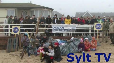 Strandreinigung auf Sylt