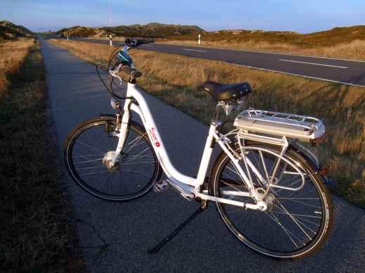 Auf Sylt mit Fahrrad unterwegs