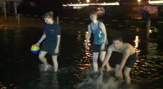 Überschwemmung Sylt
