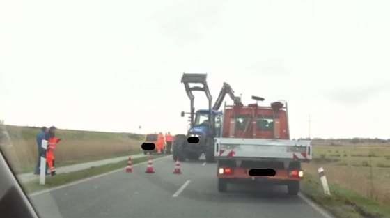 Unfall - K117 in Richtung Archsum kurz gesperrt