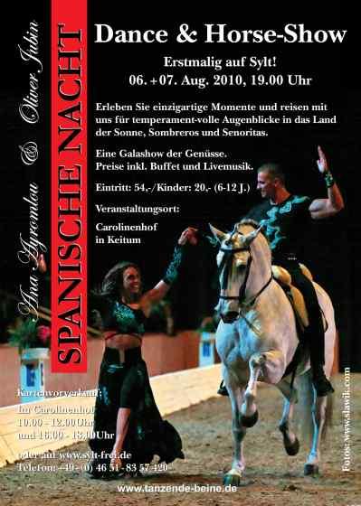 Dance & Horse Show erstmalig auf Sylt