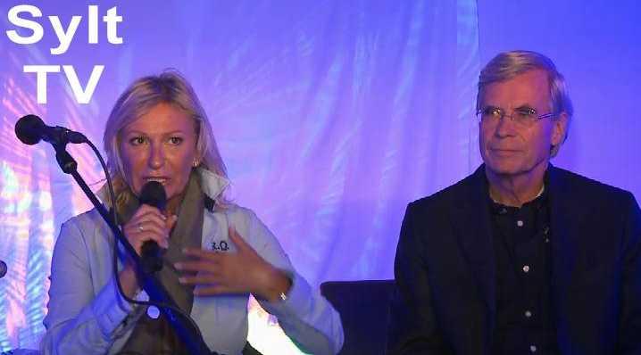 Sabine Christiansen + Dr.Michael Otto