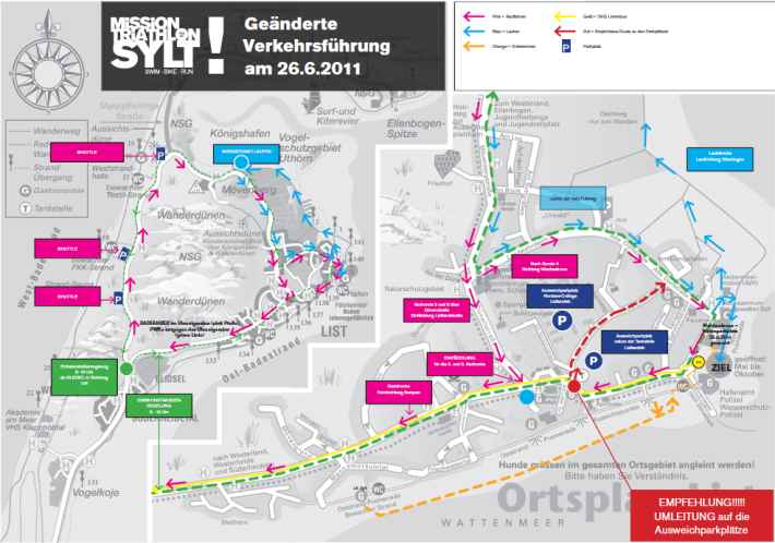 Sylt Triathlon Plan