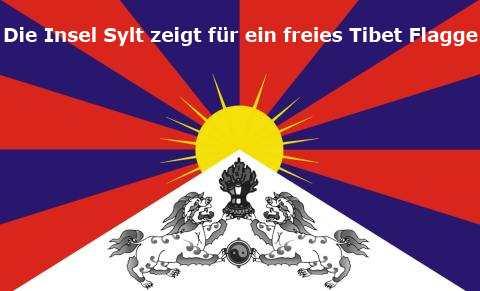 Tibet Flagge