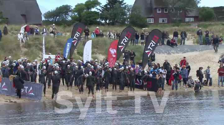 Sylt Triathlon Start