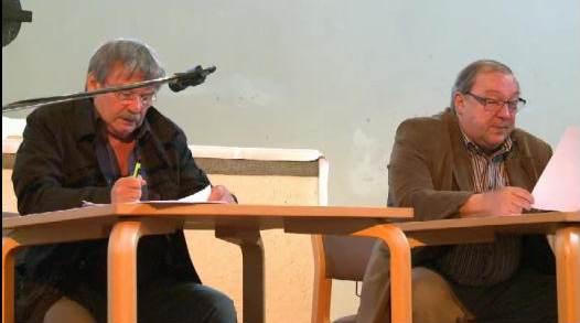 Wolfgang Winkler + Jaecki Schwarz auf Sylt