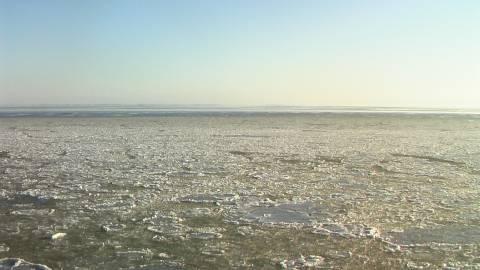 Eis stoppt die Adler Schiffe