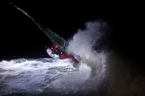 In Westerland werden Windsurfer Weltmeister